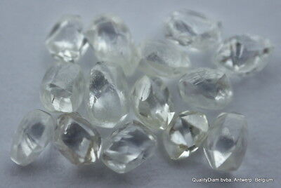 For Rough Diamonds Jewelry 2.12 Carat Selected Gem Diamonds Ready To Mount