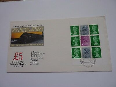 The Story of British Rail 1986 FDC