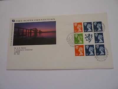 The Scots Connection 1989 (03) FDC