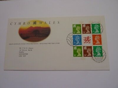 Wales 1992 (02) FDC