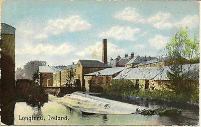 Longford, Ireland. Unposted Promotional Postcard