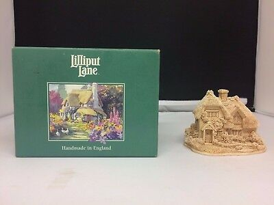 Lilliput Lane Suffolk Pinks Cottage - Boxed in great condition ##OM04CYL