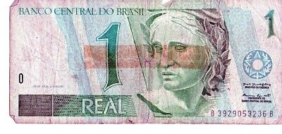 Brazil 1994-97 1 Real Currency