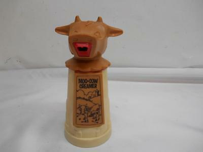 Old Vtg Whirley Industries MOO-COW CREAMER Cream Syrup Dispenser Kitchenware