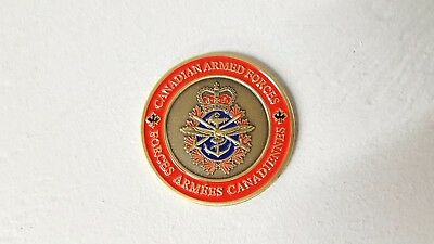 Canadian Armed Forces Challenge Coin