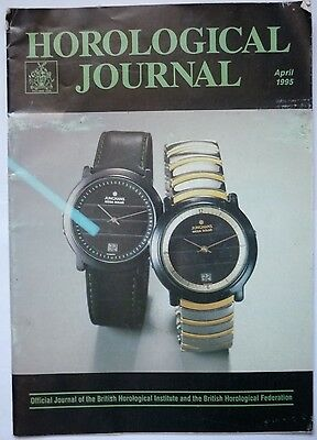 HORLOGICAL JOURNAL APRIL 1995 VOL. 137 No. 4 ATOMIC TIME ON THE WRIST