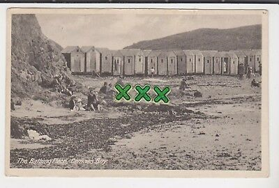 Roberts Postcard - The Bathing Place, Cemaes Bay - P/m Amlwch 1924 Nixon