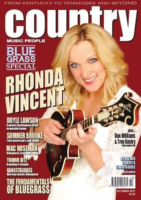 Country Music People Magazine October 2017 (Rhonda Vincent, Bluegrass Special)