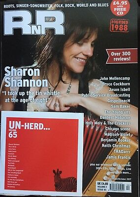 Rnr Magazine  September/october 2017 (Sharon Shannon, Mellencamp, Isbell) New
