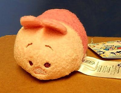 """New Disney Stackable Plush 3 1/2"""" Tsum Tsum Piglet From Winnie The Pooh"""