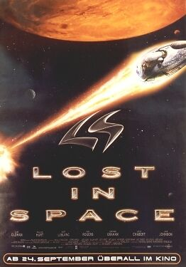 Poster: LOST IN SPACE - Movie Sheet - Promo NEU  (54752)