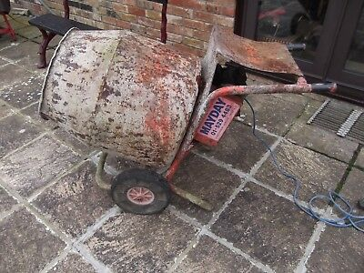 second hand cement mixer old but still working spares repairs