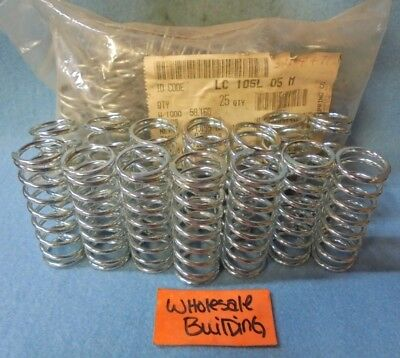 "Lee Spring Co Compression Springs, Lc 105L 05 M, 0.970"" Od, 2.5"" L, Lot Of 39"