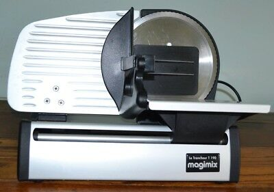 Lightly Used Magimix Le Tranceheur T 190 Slicer Meat, Ham etc. FREE DELIVERY