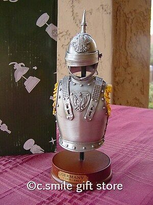 Pewter Replica *ARMOR & HELMET: GERMANY 1839-1846* Beautiful Quality Gift Boxed