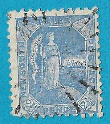 """+ 1890 New South Wales """"Australia"""" #89 A33 2.5d used"""