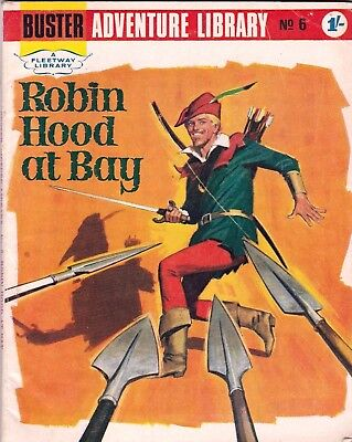 BUSTER LIBRARY  # 6  1960s   ROBIN HOOD