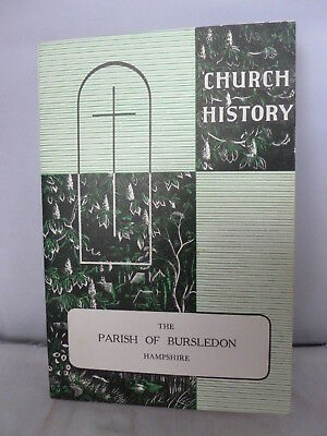 Church History - The Parish of Bursledon - Hampshire Guide 1959