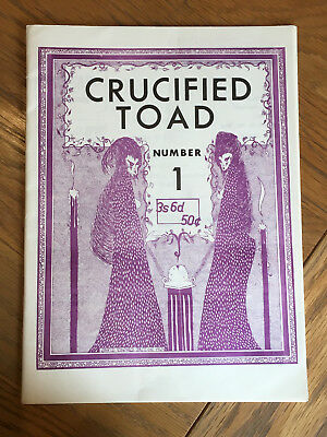 Crucified Toad Number 1 John Muir - inc. letter from Dave Britton to Ken Bulmer