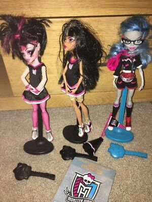 Monster High Dolls X 3