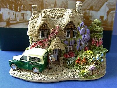 A Lilliput Lane Wisteria Lane (L2942) Boxed with Deeds