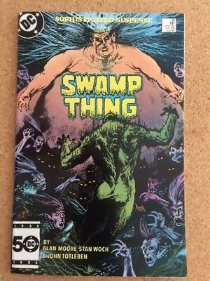 Swamp Thing 38 2nd Full Appearance John Constantine Hellblazer by Alan Moore