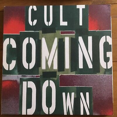 """The Cult - Coming Down  12""""  Vinyl"""