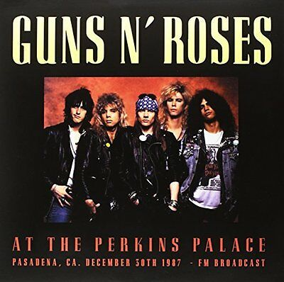 Guns N Roses Live At The Perkins Palace 2 LP VINYL Limited edition 500 only
