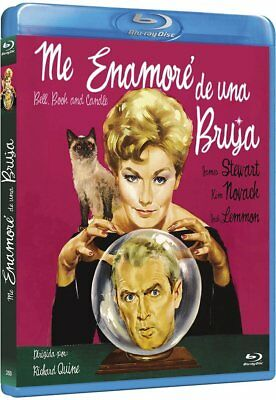 Bell Book and Candle (1958) Blu-Ray NEW (Spanish Package - English Audio)