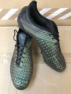 adidas Predator Malice SG Rugby Boots Green / Core Black RRP £160 UK 10