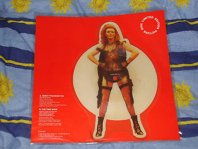"""Anthony Head - Sweet Transvestite (Rocky Horror Show) 7"""" Picture Disc Single"""