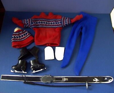 "Vintage 1960's Sindy Boyfriend Paul Outfit  ""Winter Sports""  (13M07))"