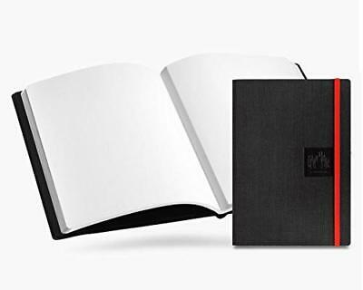 CARAN D'ACHE Notebook Journal, A5, Black Canvas, Blank Pages, #454.509