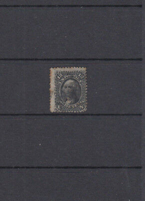 A very nice old United States 12 Cents Washington issue with grill