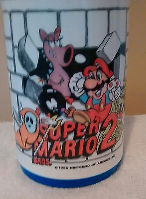 Vintage Super Mario 2 -1989 Aladdin  - Zelda II Thermos ( No Lunchbox )