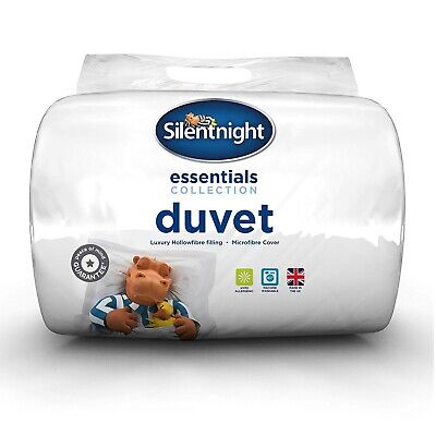Silentnight Hollowfibre Duvet / Quilt - 10.5 Tog - Single Double King or SK