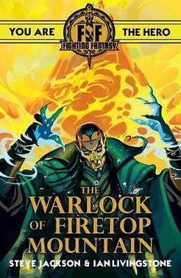 NEW Fighting Fantasy : The Warlock of Firetop Mountain By Ian Livingstone