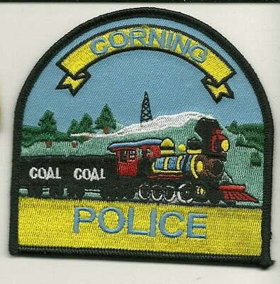 Train CORNING Police State of OHIO OH Shoulder Patch