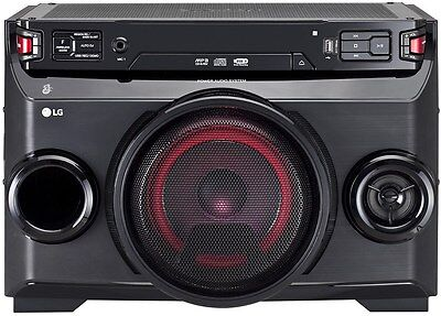LG Electronics OM4560 High Power Hifianlage Schwarz