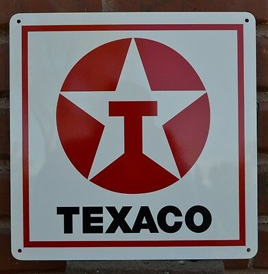 Texaco Gas Station Pump SIGN Service Mechanic Collectable Garage Free Shipping