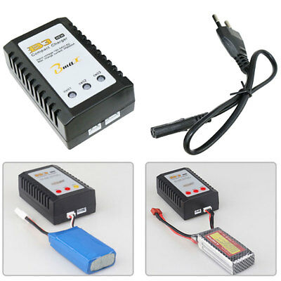 RC B3 7.4V 11.1V Lithium Pro Compact 2S 3S Lipo Balance Battery Charger
