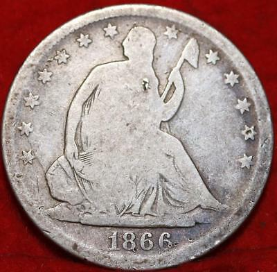 1866-S San Francisco Mint Silver Seated Liberty Half Dime Free S/H