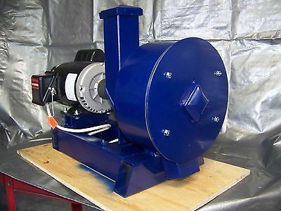 "16"" Portable Rock/glass Crusher, Electric Motor 9 Hammers, 3 7/8"" Rock /item"