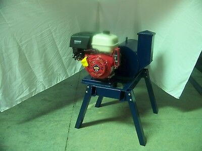 "Beast Rock/glass Crusher, 27 Hammers  16"" X 18"" Drum  Gas Engine  6"" Feed"