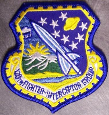 Embroidered Military Patch USAF Air Force 120th Fighter Interceptor Group NEW