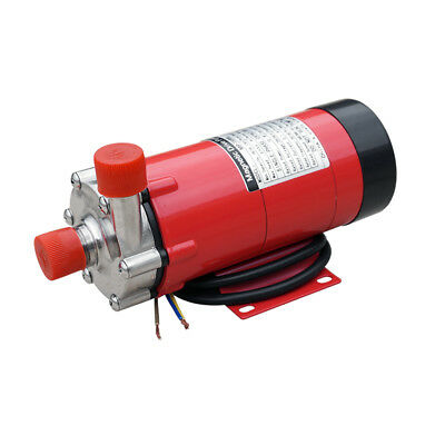220V 10W Staiinless Steel Head 16L/M Homebrew Magnetic Drive Pump 15R 1/4 BSP