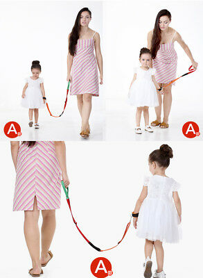 Toddler Harness Leash Baby Walking Assistant Safety Belt Anti Lost Wrist Link
