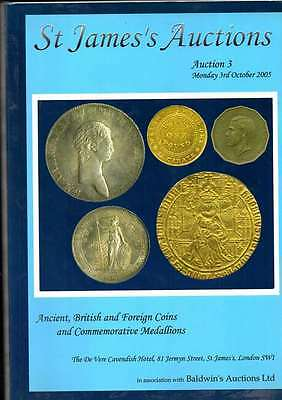 St James Auction Catalogue  Oct 2003 Ancient British And Foreign Coins Etc Ex