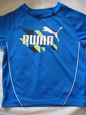 Baby Boys Electric Blue Puma T Shirt Top  Age 12 - 24 Months 1-2 Years Size 2T