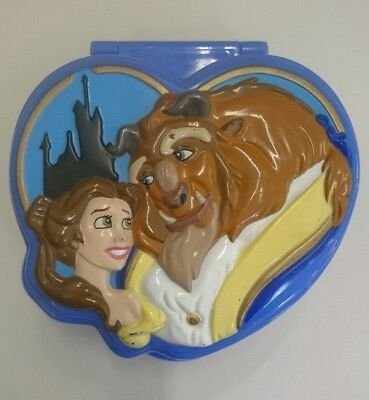 Polly Pocket Disney Beauty and the Beast compact. Bluebird 1995. NO figures